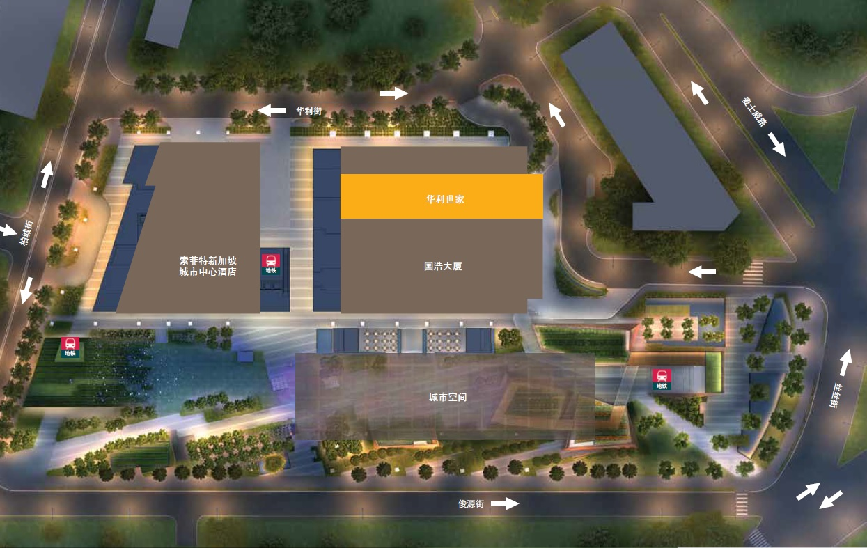 Site Plan overview chinese