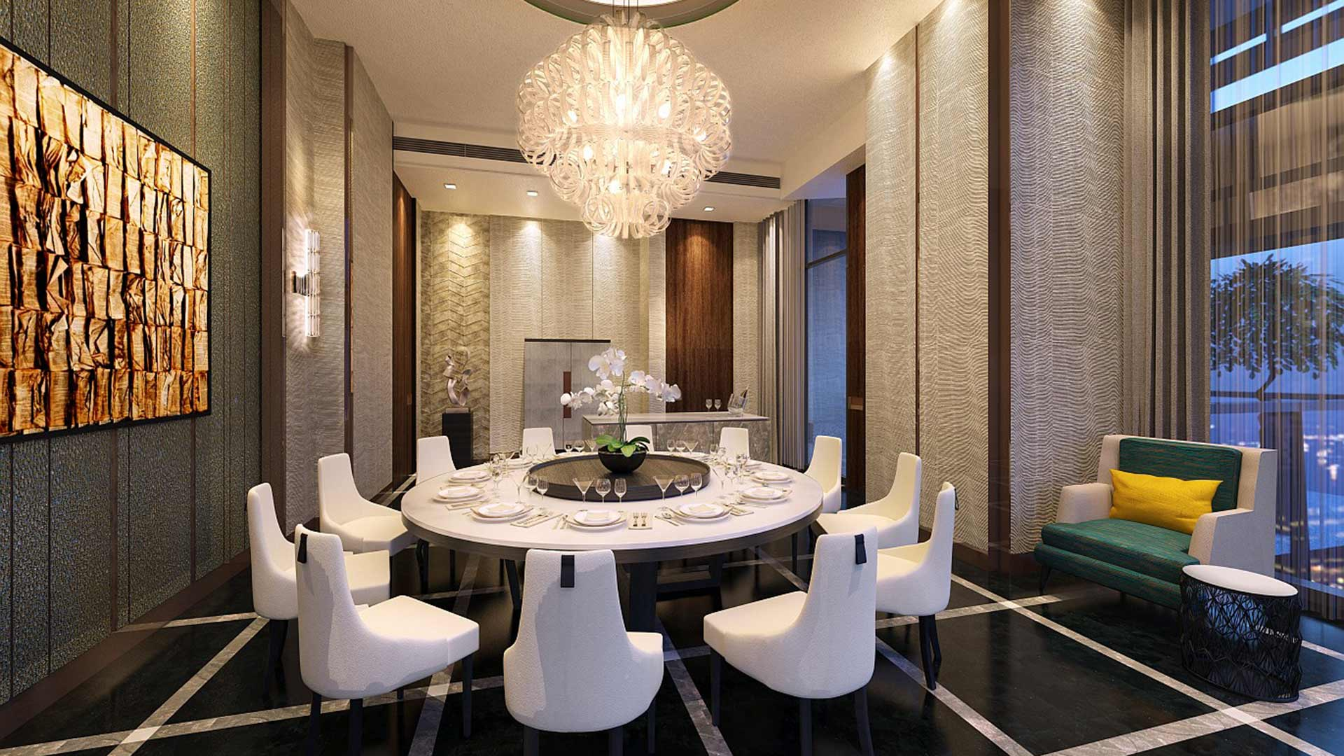 wallich residence dining room